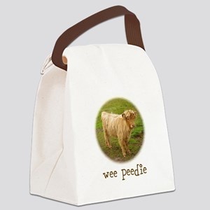 Wee Peedie Canvas Lunch Bag