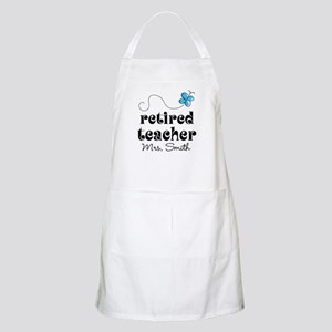 Retired Teacher personalized Apron