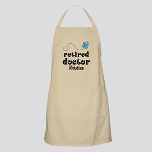 Retired Doctor personalized Apron