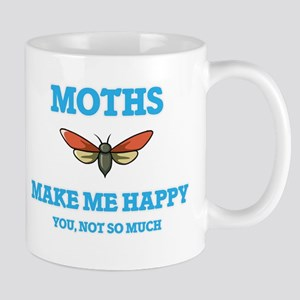 Moths Make Me Happy Mugs