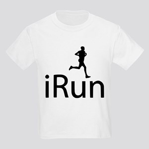 iRun Man Black Kids Light T-Shirt
