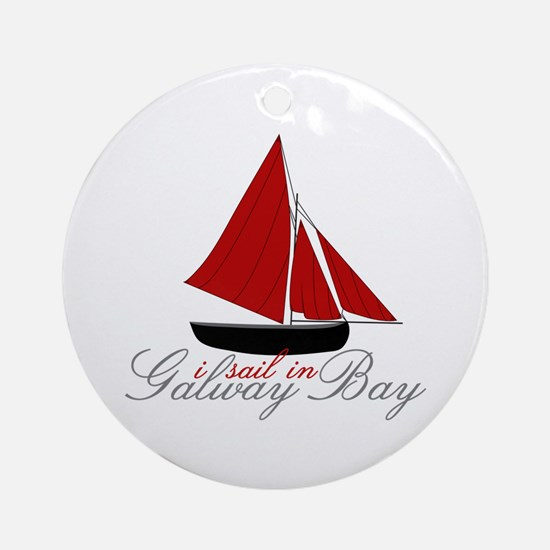 Galway Bay Ornament (Round)