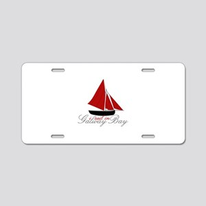 Galway Bay Aluminum License Plate