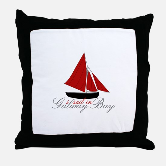 Galway Bay Throw Pillow