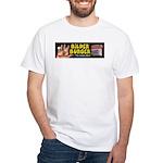 Bilder Burger White T-Shirt
