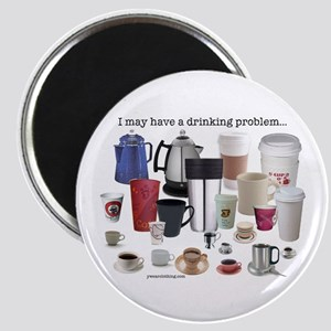Coffee Drinking Problem Magnet