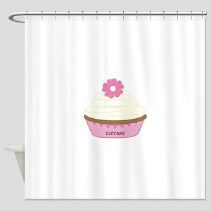 Cupcake Shower Curtain