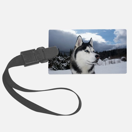 Wolf woods Luggage Tag