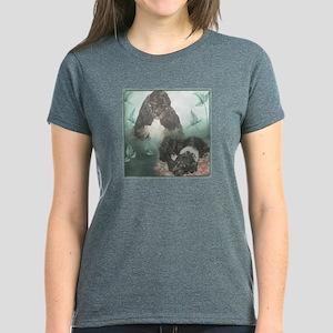 Tri-Cocker Spaniel Collage T-Shirt