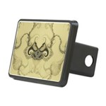 Stylized Angel Wings Hitch Cover