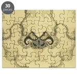 Stylized Angel Wings Puzzle