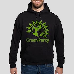 The Green Party Hoodie (dark)