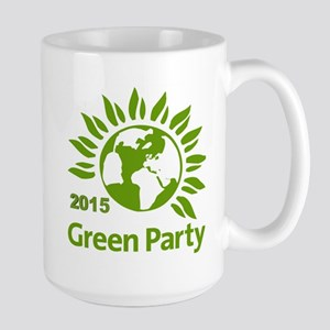 Green Party 2015 Large Mug Mugs