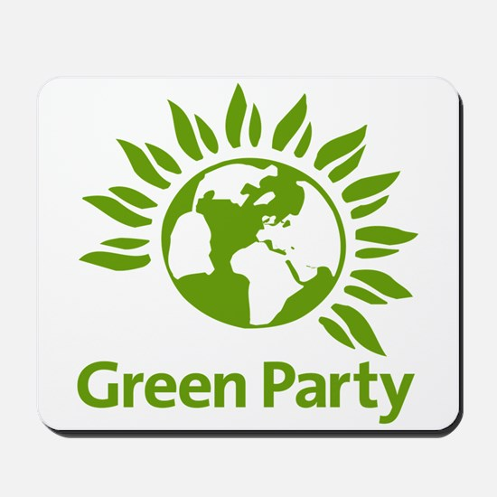 The Green Party Mousepad