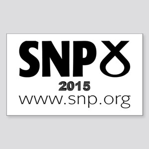 SNP 2015 Sticker (Rectangle)