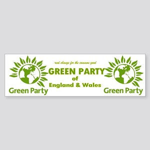 The Green Party Sticker (Bumper)