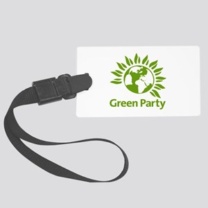 The Green Party Large Luggage Tag