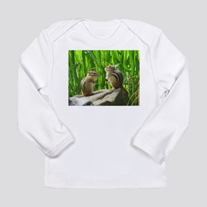 Two Chipmunks Long Sleeve T-Shirt