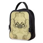 Stylized Angel Wings Neoprene Lunch Bag