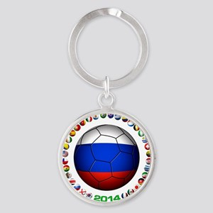 Russia soccer Keychains