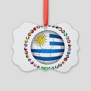 Uruguay soccer futbol Ornament