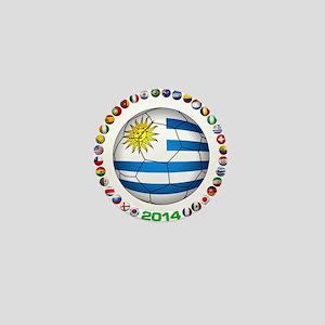 Uruguay soccer futbol Mini Button