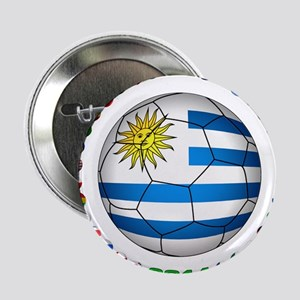"Uruguay soccer futbol 2.25"" Button"