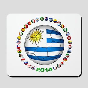 Uruguay soccer futbol Mousepad