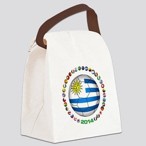 Uruguay soccer futbol Canvas Lunch Bag