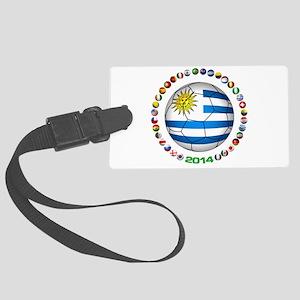 Uruguay soccer futbol Luggage Tag