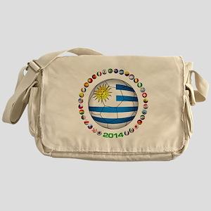 Uruguay soccer futbol Messenger Bag
