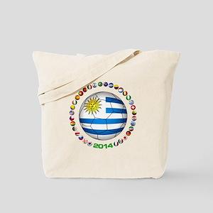 Uruguay soccer futbol Tote Bag
