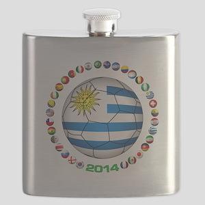 Uruguay soccer futbol Flask