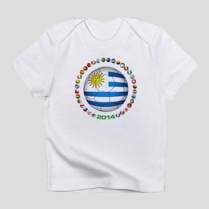 Uruguay soccer futbol Infant T-Shirt