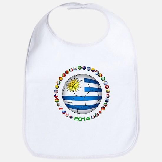 Uruguay soccer futbol Bib