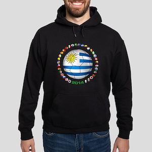 Uruguay soccer futbol Hoodie