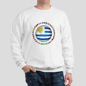 Uruguay soccer futbol Sweatshirt