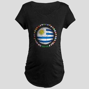 Uruguay soccer futbol Maternity T-Shirt