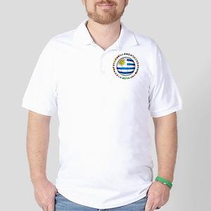 Uruguay soccer futbol Golf Shirt