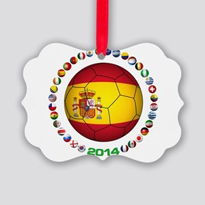 Spain soccer Ornament