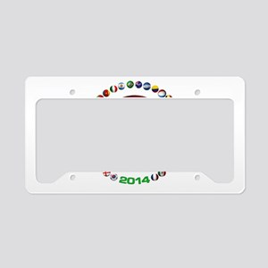 Spain soccer License Plate Holder