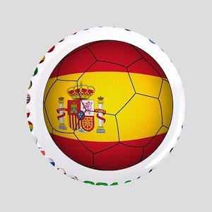 "Spain soccer 3.5"" Button"