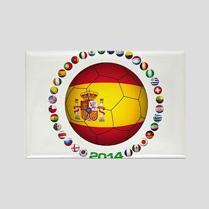Spain soccer Magnets