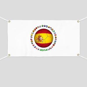 Spain soccer Banner