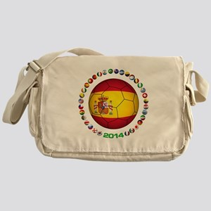 Spain soccer Messenger Bag