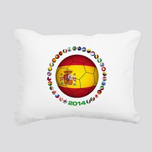 Spain soccer Rectangular Canvas Pillow