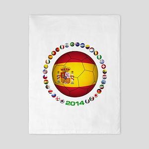 Spain soccer Twin Duvet