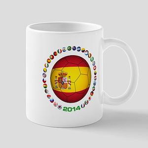 Spain soccer Mugs