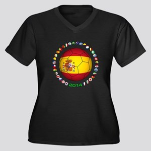 Spain soccer Plus Size T-Shirt
