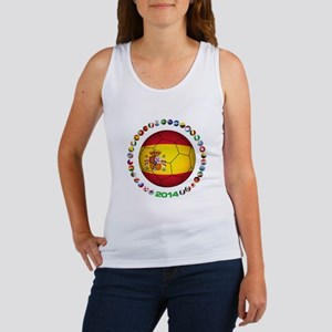 Spain soccer Tank Top